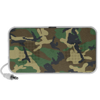 Military Camouflage Doodle Mini Speakers