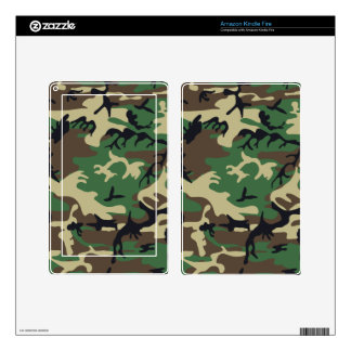 Military Camouflage eReaders and Tablets Skins Kindle Fire Decal