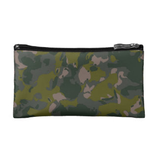 Military camouflage for army soldier Vietnam style Makeup Bag