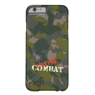 Military camouflage for soldier: close combat war barely there iPhone 6 case