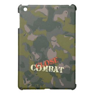 Military camouflage for soldier: close combat war iPad mini cover