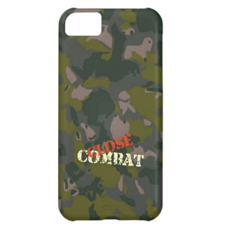 Military camouflage for soldier: close combat war iPhone 5C case