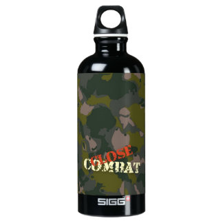 Military camouflage for soldier: close combat war water bottle