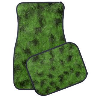 Military Camouflage fur Car Floor Mat
