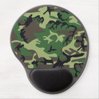 Military Camouflage Gel Mouse Pad