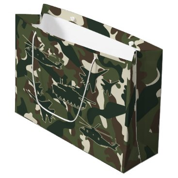 Military Camouflage Gift Bag - Boys Birthday Party