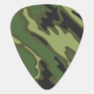 Military Camouflage Guitar Pick
