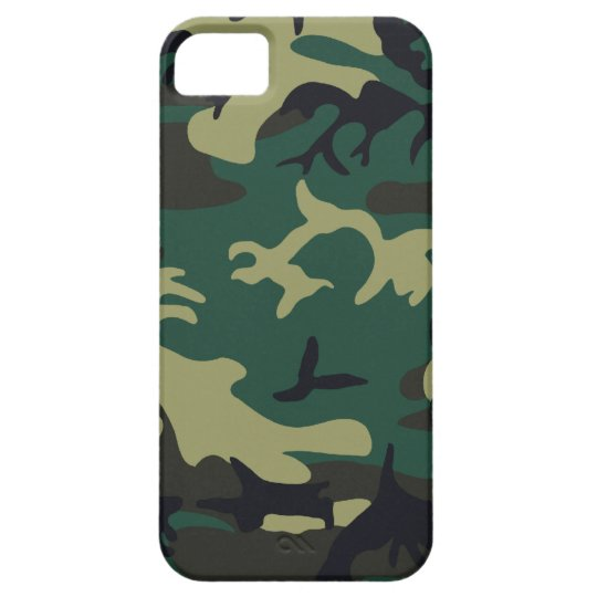 Military Camouflage iPhone SE/5/5s Case