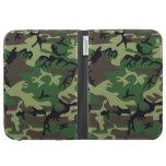 Military Camouflage Kindle Keyboard Case
