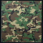 "Military Camouflage Napkin<br><div class=""desc"">Military Brown ERDL camouflage pattern,  also known as &quot;Highland&quot;. Consists of 4 colors printed in an interlocking pattern.</div>"