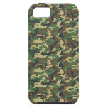 Military Camouflage Pattern - Brown Yellow Green iPhone 5 Cover