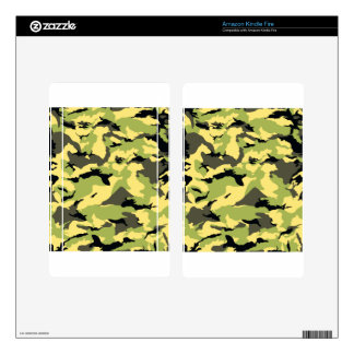 military camouflage pattern decal for kindle fire
