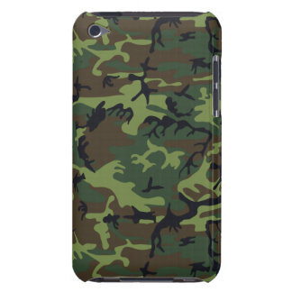 Military Camouflage Pattern, Woodland Style Case-Mate iPod Touch Case