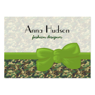 Military Camouflage Pattern - Yellow Green Gray Business Card