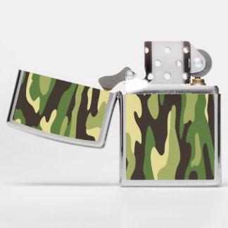 Military Camouflage  Personalized Zippo Lighter