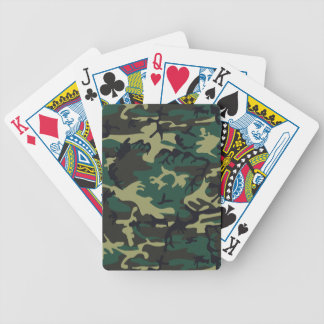 Military Camouflage Bicycle Poker Cards