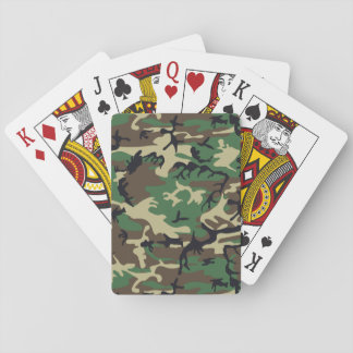 Military Camouflage Poker Cards