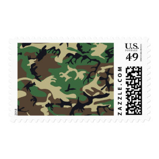 Military Camouflage Postage