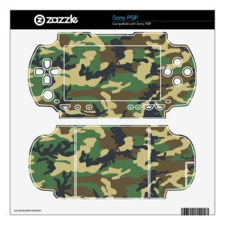 Military Camouflage Sony PSP Skin