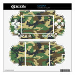 Military Camouflage Sony PSP Skin