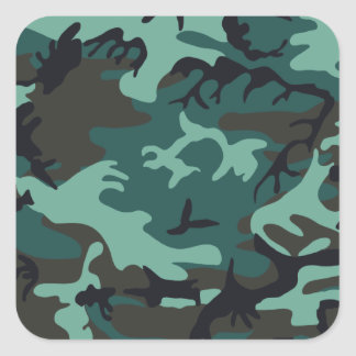 Military Camouflage Sticker