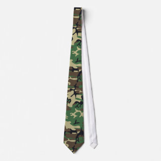 Military Camouflage Tie