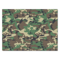 Military Camouflage Tissue Paper