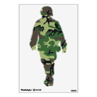 Military Camouflage Wall Decor