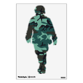 Military Camouflage Wall Decal