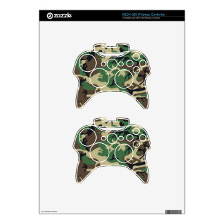 Military Camouflage XBOX Wireless Control Skin Xbox 360 Controller Decal
