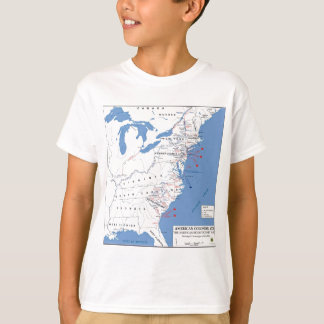 Military Campaigns of the American Revolution T-Shirt