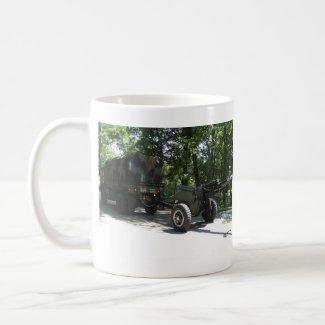 Military Cannon mug