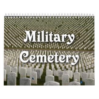 Military Cemetery Wall Calendars