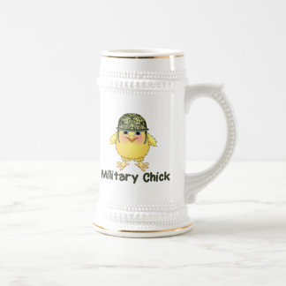 Military Chick Beer Stein