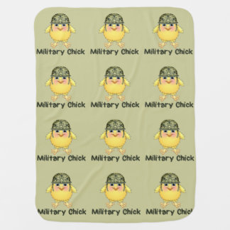 Military Chick Swaddle Blankets