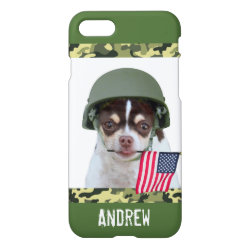 iPhone 7 Case with Chihuahua Phone Cases design