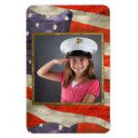 Military Child Premium Magnet
