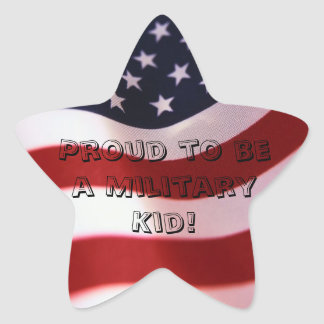 Military Child Sticker