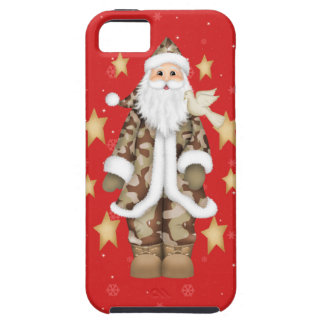 Military Christmas Camouflage Santa iPhone 5 Case