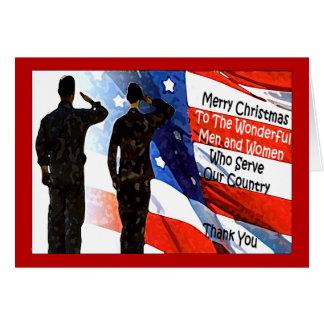 Military Christmas Card