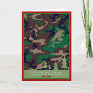 military christmas card you may be far away