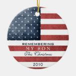 Military Christmas Christmas Tree Ornament