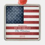 Military Christmas Metal Ornament