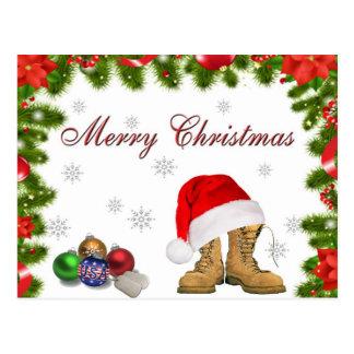 Military Christmas Postcard
