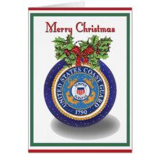 Military Coast Guard Christmas Card at Zazzle