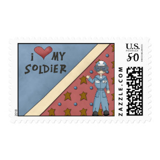 Military Collection Air Force Soldier Man Postage