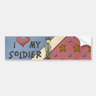 Military Collection Army Soldier Bumper Sticker Car Bumper Sticker