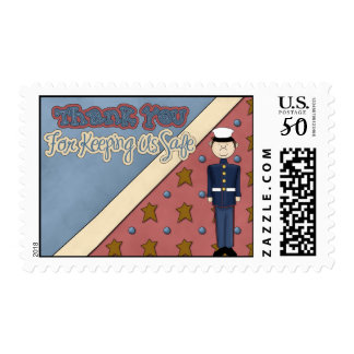 Military Collection Marine Soldier Man Postage Sta