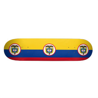 Military Colombia, Colombia flag Skateboard Deck