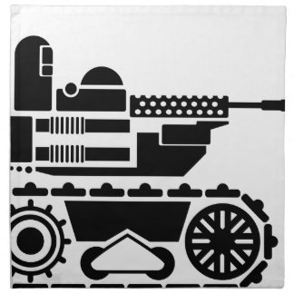 Military Combat remote controlled Robot Cloth Napkin